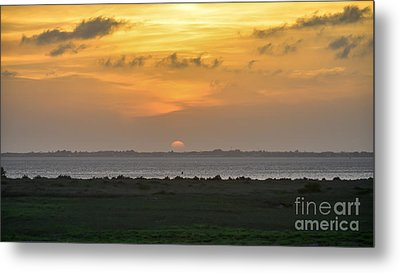 Metal Print featuring the photograph Pastel Sky by Debra Martz