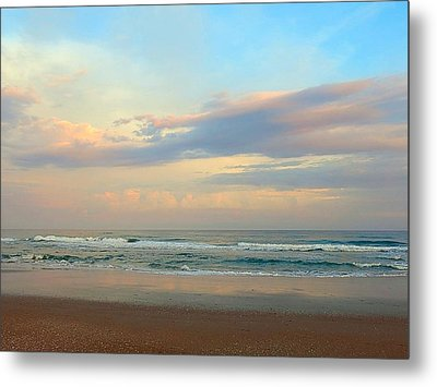Pastel Sunrise Metal Print by Betty Buller Whitehead