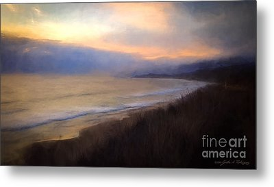 Metal Print featuring the photograph Pastel Sunset by John A Rodriguez