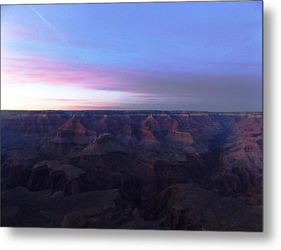 Pastel Sunset Over Grand Canyon Metal Print by Adam Cornelison