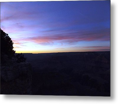 Pastels At Dark Metal Print by Adam Cornelison