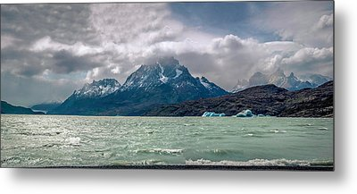 Metal Print featuring the photograph Patagonia Lake by Andrew Matwijec