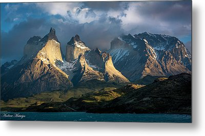 Metal Print featuring the photograph Patagonian Sunrise by Andrew Matwijec
