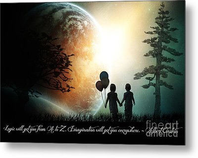 Path Of Imagination Metal Print by Eugene James