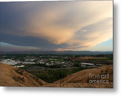 Path Of The Storm Metal Print