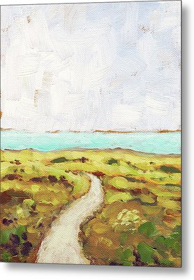 Path To The Sea Metal Print by Clary Sage Moon