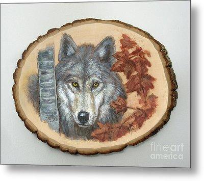Wolf - Paths To Balance Metal Print