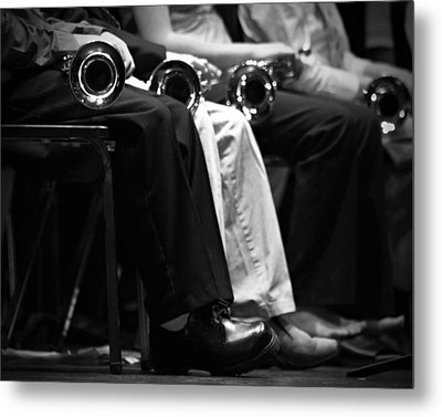 Metal Print featuring the photograph Patiently Waiting... by Trish Mistric