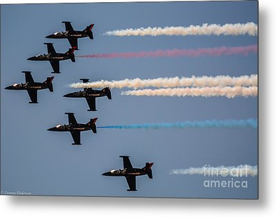Patriot Aerial Demonstration Team Metal Print by Tommy Anderson