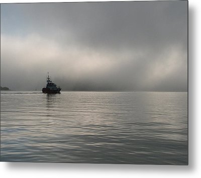 Metal Print featuring the photograph Patrol by Mark Alan Perry