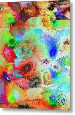 Pattern 242 _ Imagination Metal Print
