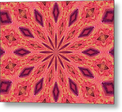 Metal Print featuring the digital art Pattern II by Elizabeth Lock