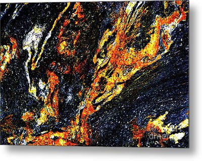 Metal Print featuring the photograph Patterns In Stone - 187 by Paul W Faust - Impressions of Light