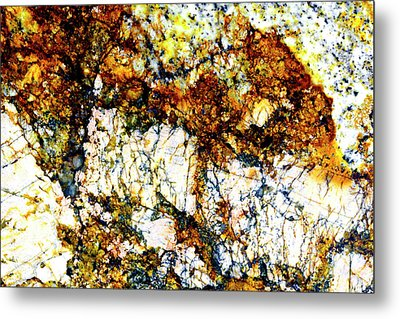 Metal Print featuring the photograph Patterns In Stone - 210 by Paul W Faust - Impressions of Light