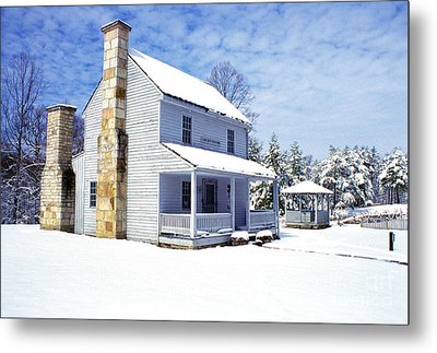 Patterson House Carnifax Ferry Battlefield Metal Print by Thomas R Fletcher