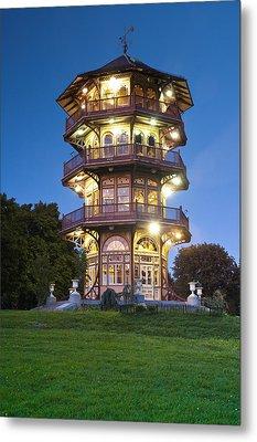 Patterson Park Pagoda. Baltimore Maryland  Metal Print by Matthew Saindon