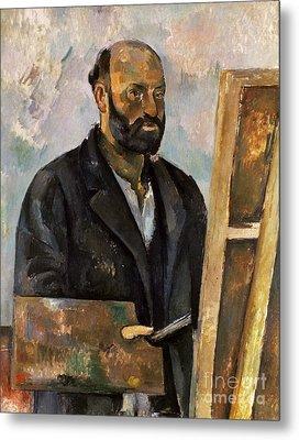Paul Cezanne (1839-1906) Metal Print by Granger