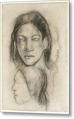 Paul Gauguin Metal Print by MotionAge Designs