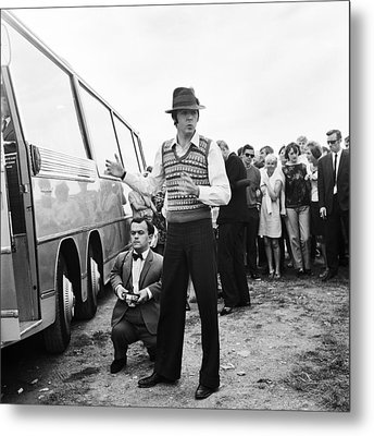 Paul Mccartney Beatles Magical Mystery Tour Metal Print by Chris Walter