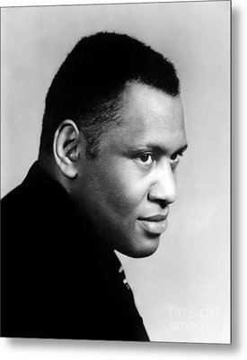 Metal Print featuring the photograph Paul Robeson by Granger