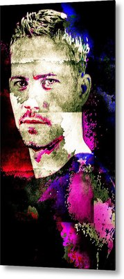 Paul Walker Metal Print