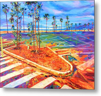 Paved Paradise Metal Print
