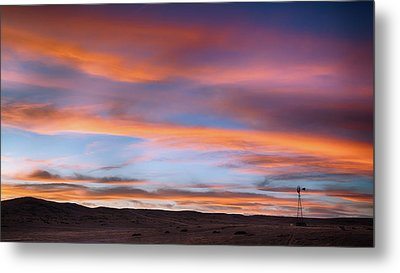 Pawnee Sunset Metal Print