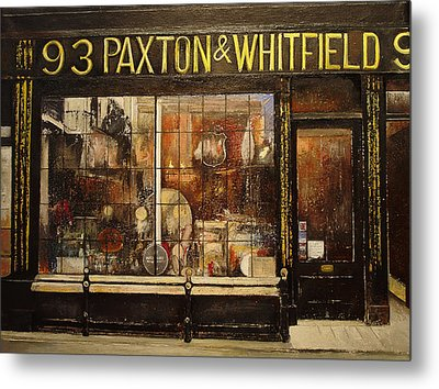 Paxton Whitfield .london Metal Print by Tomas Castano