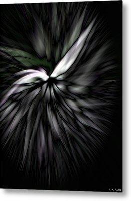 Peace Dove Metal Print by Lauren Radke