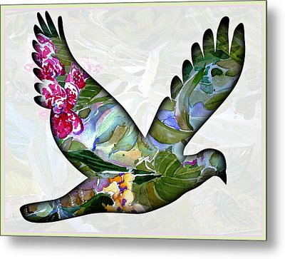 Peace For Peace Metal Print by Mindy Newman
