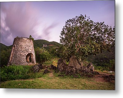 Metal Print featuring the photograph Peace Hill Ruins by Adam Romanowicz
