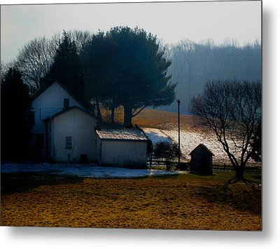 Peace In The Valley Metal Print by Gordon Beck
