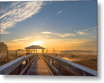 Metal Print featuring the photograph Peace by Margaret Palmer
