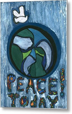 Peace Today Metal Print