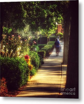 Peaceable Road Metal Print
