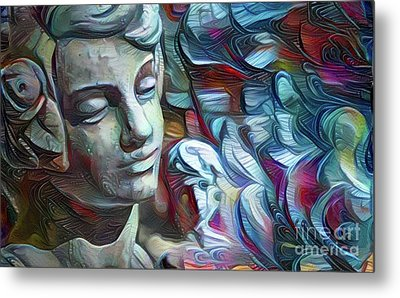 Peaceful Boy 3 Metal Print