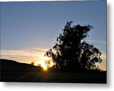 Metal Print featuring the photograph Peaceful Country Sunset  by Matt Harang