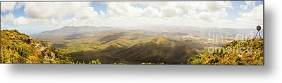 Peaceful Countryside Panorama Metal Print by Jorgo Photography - Wall Art Gallery