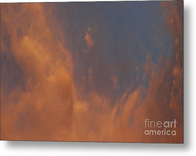 Peaceful  Dance In The Sand Storm Metal Print by Sean-Michael Gettys