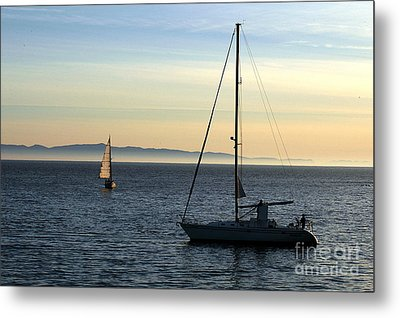 Peaceful Day In Santa Barbara Metal Print by Clayton Bruster