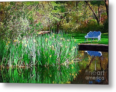 Metal Print featuring the photograph Peaceful by Donna Bentley
