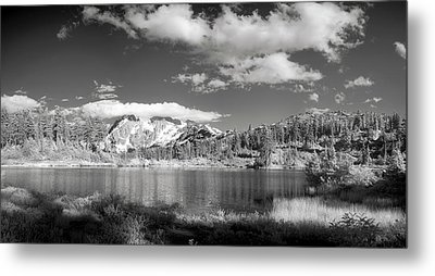 Metal Print featuring the photograph Peaceful Lake by Jon Glaser