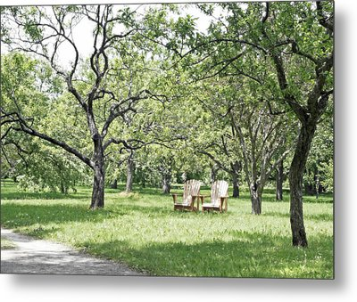 Peaceful Place To Rest Metal Print by Brooke T Ryan
