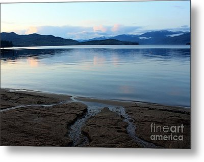 Peaceful Priest Lake Metal Print by Carol Groenen