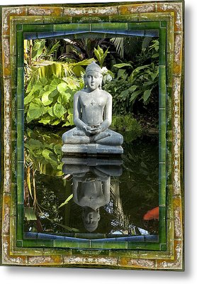 Peaceful Reflection Metal Print by Bell And Todd