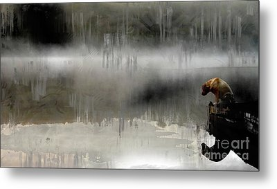 Metal Print featuring the photograph Peaceful Reflection by Claire Bull