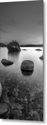 Peaceful Shores Metal Print by Brad Scott