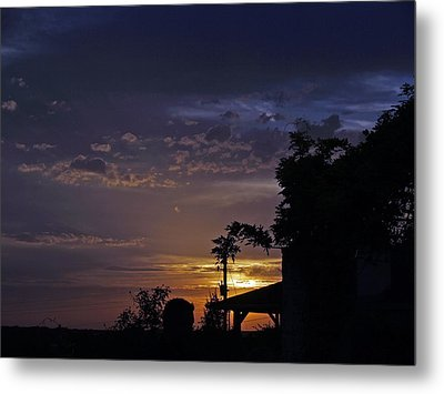 Peaceful Sunset Metal Print by James Granberry
