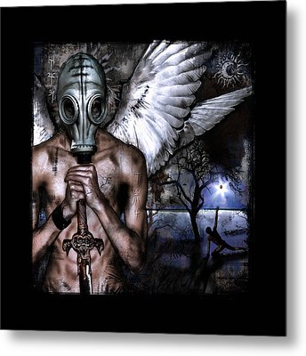 Peacekeeper Metal Print by Mandem