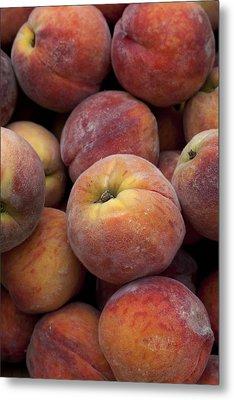 Peaches 2 Metal Print by Robert Ullmann